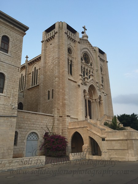 The Church at the overlook of Nazareth.