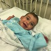 Baby Mustafa came through his surgery with flying colors! He is all smiles and ready to go home tomorrow!