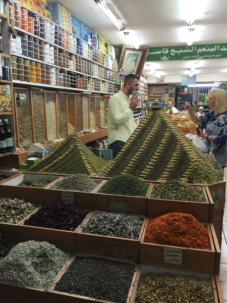 One of the many amazing spice shops in the Old City.