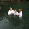 Being baptized in the Jordan River just like Jesus was amazing!