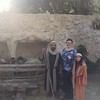 I visited Nazareth Village to experience Nazareth in the time of Jesus. With the shepherds. Very cool!