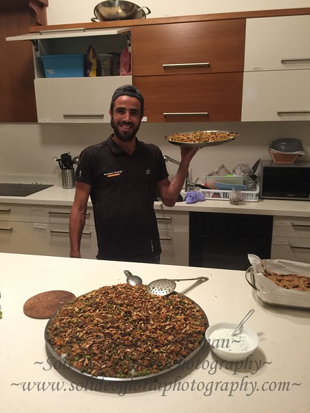 Amar has also been spoiling us with his great cooking!