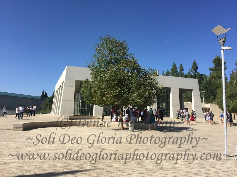 This day was harder, visiting Yad Vashem in Jerusalem. The Holocaust Museum there. It was interesting to contrast the two, having been to the Holocaust Museum in Washington D.C. earlier this year.