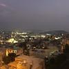 The view of Nazareth from my window tonight! Beautiful!