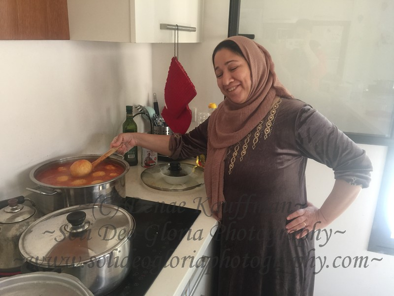 She is also an excellent cook! I am totally enjoying all the Kurdish food they prepare for us. And the tea and Rost-now is amazing as well!
