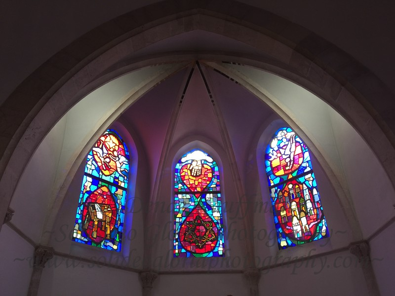 Went to a Lutheran Church this Shabbat with some of the young German girls who I'm serving with. It had beautiful windows!
