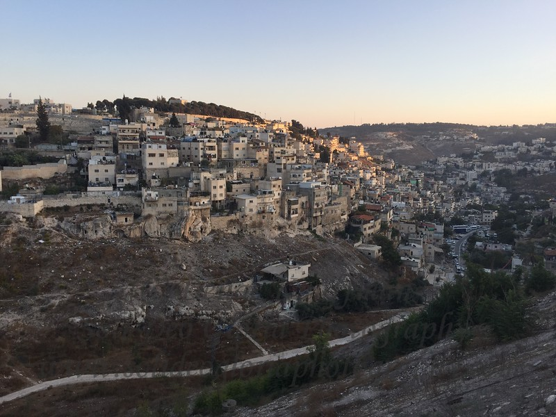 The view of East Jerusalem looking out across the Kidron valley from the Mount of Olives. This is where some interesting things will happen in the end of days.
