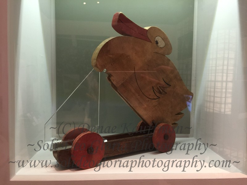 A duck used by a teacher to smuggle new identity papers to Jews to help them escape the country.