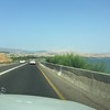 Driving north along the coast towards Ginosar and Magdala.