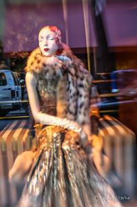 window shopping at Saks 5th
