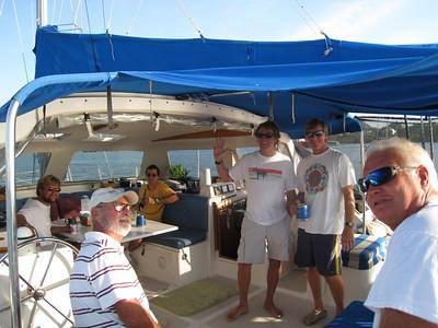 01-30-08 thru 02-02-08 Panama Canal Transit on Sol Surfin