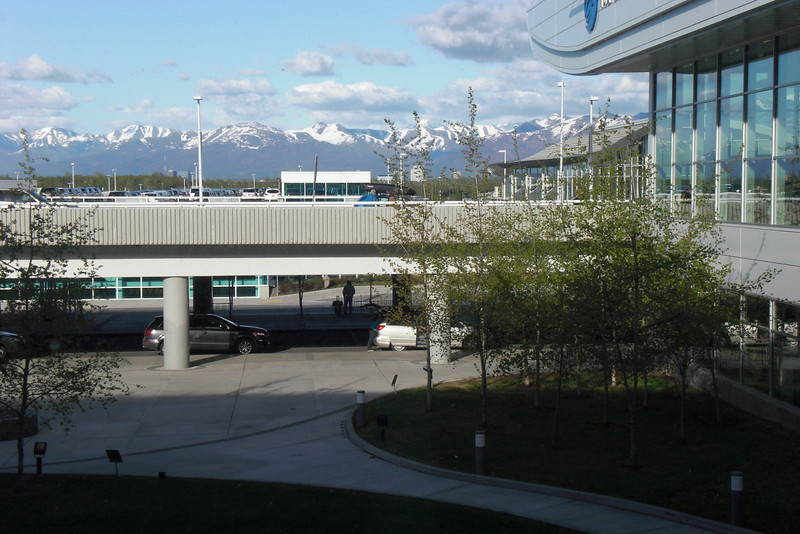 Anchorage Airport.