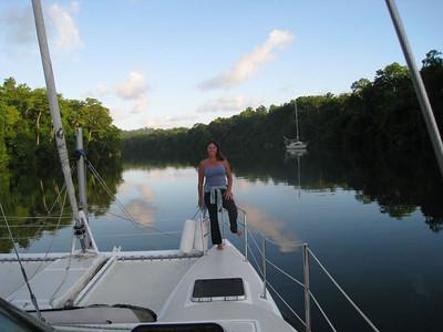 02-02-08 thru 02-05-08 Rio Chargres Panama (Caribe side)