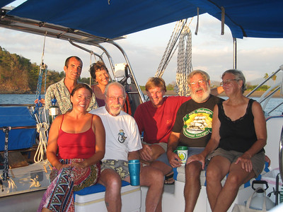 02-09-07 thru  02-13-07  Isla Catalina, Cebaco, Narango & Benau SEA SNAKES