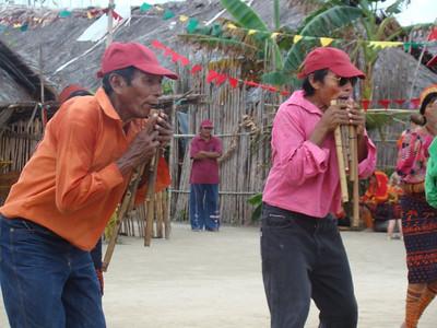 02-19-2008 thru 03-07-2008 San Blas Islands Revolution Day and sailing in dugout