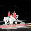 """The """"Pas de Deux"""" showing synchronized dressage and horsemanship..."""