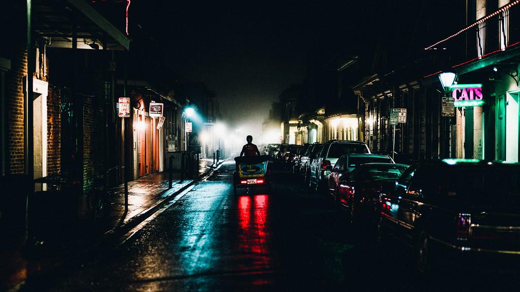 Street scene, New Orleans.