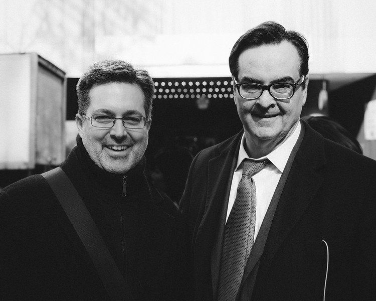 We bumped into Steve Higgins walking down the street as he was heading to the taping of the Tonight Show with Jimmy Fallon. He also produces Saturday Night Live.