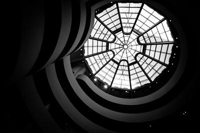 The iconic Guggenheim Museum.