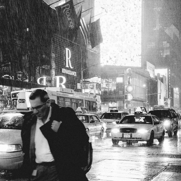 Thunderstorm, Times Square.