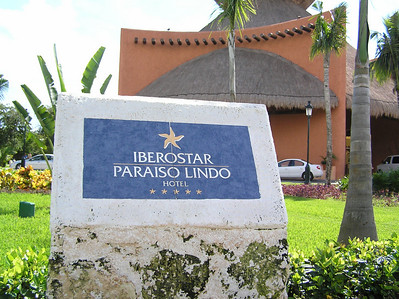 Our hotel for the week - the Iberostar Paraiso Lindo in Playa del Carmen, Mexico.  Beautiful resort.