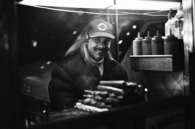 Street food vendor.