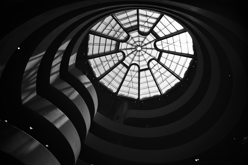 The Guggenheim from the lobby.