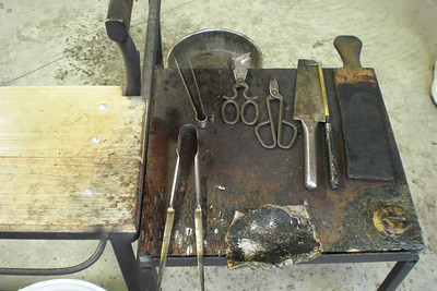 The basic tools for glass-blowing. They are used in ways you might not expect.