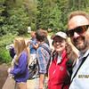 The gang headed toward the trail head for Calypso Cascades...