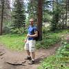 Josh on the trail
