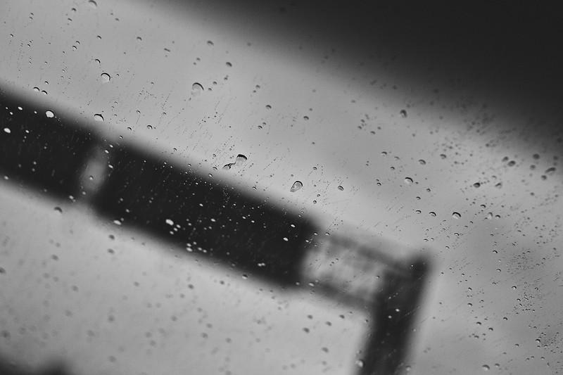 Leaving Houston on a rainy Saturday...