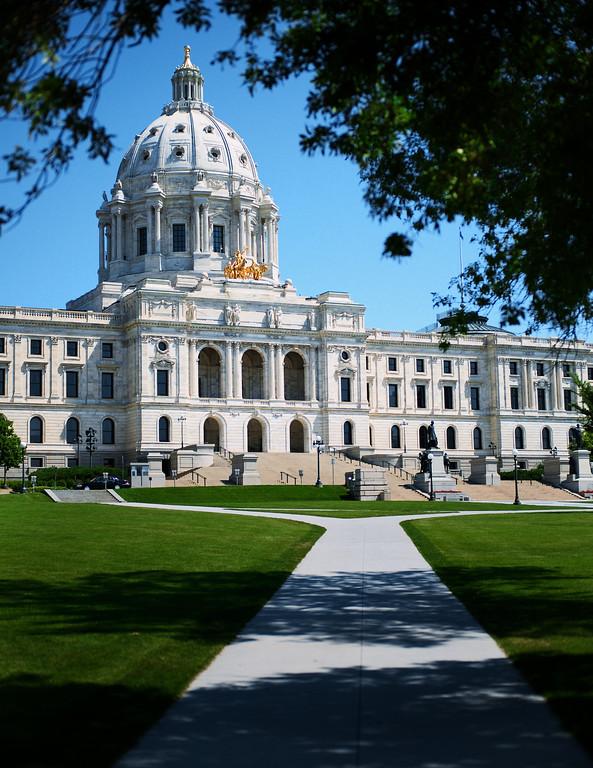 Minnesota's State Capital in St. Paul.