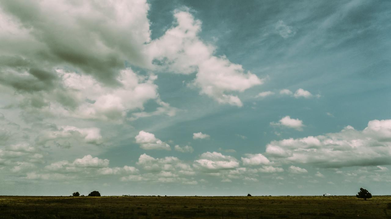 Driving through the plains...