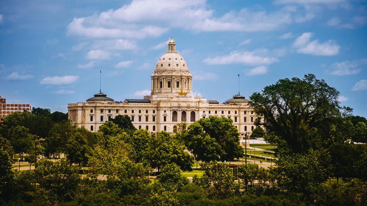 Minnesota capital in St. Paul