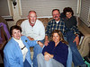 BALLOONATICS ALL<br /> Dave and Ann's place<br /> <br /> And here we have the assembled Rise-N-Shine crew. L to R: Ann, Dave, Jennifer, me, and Peggy. Jennifer's husband, Romaldo, is taking the picture.