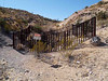 THE DEVIL'S PLAYPEN<br /> Mariscal Mine<br /> <br /> Well, it could've been, I guess. Actually, this fencing is surrounding a big hole in the ground, possibly an outlet for the extraction of ore. There wasn't an interpretive sign explaining it.