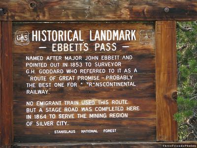 Ebbett's Pass