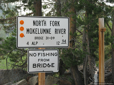 North Fork of the Mokelumne River.