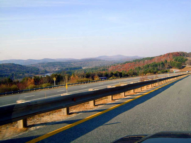 SPRINGFIELD, NEW HAMPSHIRE<br /> Well, this view is not of Springfield, NH, but of the countryside down below the exit ramp of the rest stop there. Beautiful country.