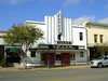 PALACE THEATER<br /> This beautiful little Art Deco theater opened in 1926, and was remodeled in 1936. It closed due to multiplex competition in 1989, and was rescued by the townsfolk shortly thereafter. It's currently the home of the local theater guild.