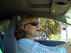 MARY DRIVING<br /> With Mary, you almost always have to catch her off-guard, as she's a little camera-shy. The last time I tried this, she put her hand up in front of her face. I'm learning.
