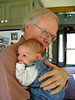 RUTH JEAN AND GRANDPA JOHN See, I told you. Everybody wants to get into the act. Well, she <i>is</i> cute.