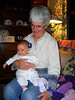 RUTH JEAN AND GRAMMY (SUSAN)<br /> Ruth Jean made all the rounds during my stay. Actually, she didn't have much to say about the whole thing. People just kept grabbing her.