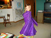 ANNA TWIRLS<br /> She was especially proud of the way it swirls when she twirls.