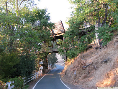 An old bridge along the alternate route to San Andreas.