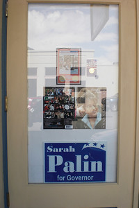 Pretty much every tourist town has a Sarah Palin souvenir store.