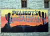 PEABODY'S RESTAURANT SIGN<br /> A buddy of mine wrote me about this place he liked so much in Goldthwaite, so we all headed in to try it out. (Actually, everyone but me already had.) I had one of the best chicken-fried steaks in my life here. It was so large, I'm probably still digesting it.