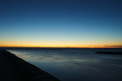 """Sunrise @ the """"Big Bridge"""" EDG/OB town line..."""