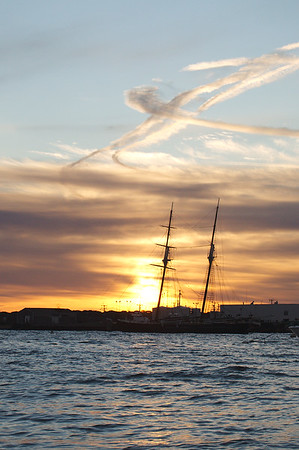 Sunrise @ Vineyard Haven - (just didn't want to get on that ferry to home....)