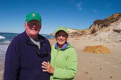 Ma and Da - Cliffs at Aquinnah, Moshup Beach